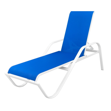 pelican pointe flat tube chaise lounge